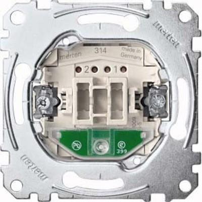 Merten Wechsel-Kontrollschalter 1-pol.10AX 250V AC MEG3106-0000