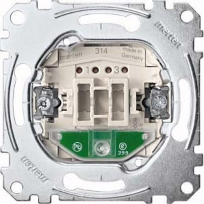 Merten Aus-Kontrollschalter-Eins. 2-pol.16AX 250VAC MEG3602-0000