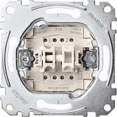 Merten Serienschalter-Einsatz 1-pol.16AX 250VAC MEG3615-0000