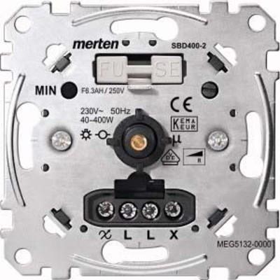 Merten Drehdimmer-Einsatz Wechs. f.ohm.Last 40-400W MEG5132-0000