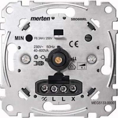 Merten Drehdimmer-Einsatz f.ind.Last 40-600W MEG5133-0000