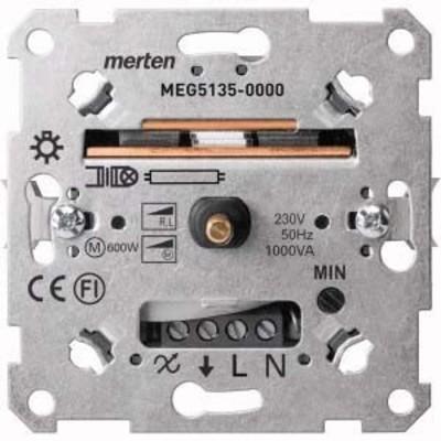 Merten Drehdimmer-Einsatz f.ind.Last 60-1000W MEG5135-0000