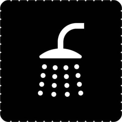 Busch-Jaeger Piktogramm Bad/Dusche für für 2068/14-xxx 2144/46-19