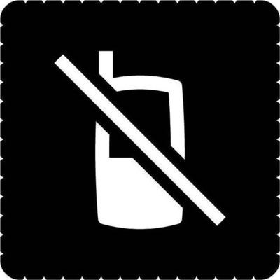 Busch-Jaeger Piktogramm Handy verboten für 2068/14-xxx 2144/49-19