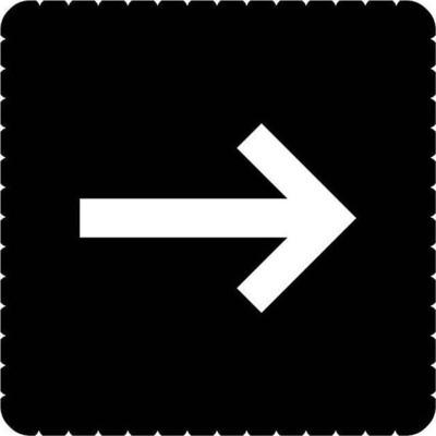 Busch-Jaeger Piktogramm Pfeilrichtung für 2068/14-xxx 2144/52-19