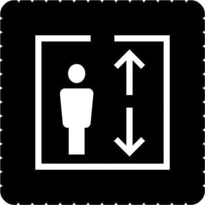 Busch-Jaeger Piktogramm Aufzug für 2068/14-xxx 2144/55-19