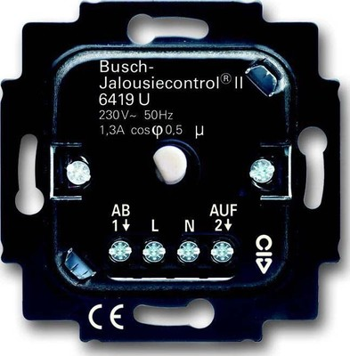 Busch-Jaeger Jalousie-Komfort-Einsatz 6419 U