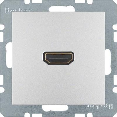 Berker Steckdose High Definition aluminium matt 3315421404