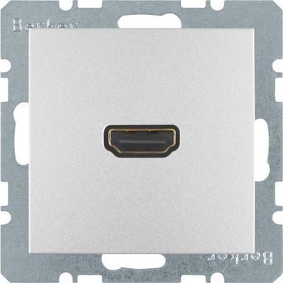 Berker Steckdose High Definition 90Grad aluminium matt 3315431404