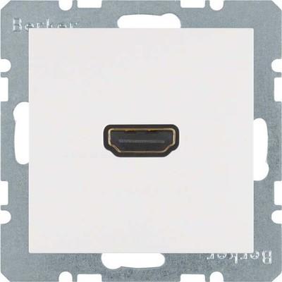 Berker Steckdose High Definition 90Grad polarws matt 3315431909
