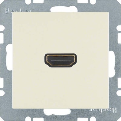 Berker Steckdose High Definition 90Grad weiß gl 3315438982