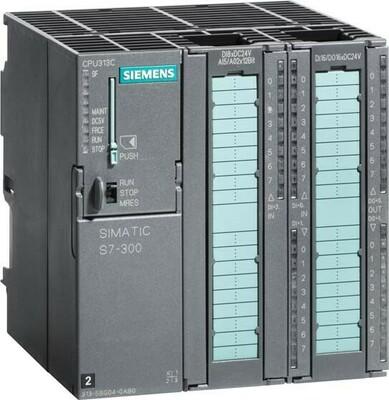 Siemens Indus.Sector CPU 313C m.MPI 24VDC 128KByte 6ES7313-5BG04-0AB0
