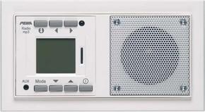 Peha AudioPoint reinweiß im NOVA-Design D 20.486.022 MP3