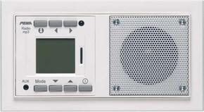 Peha AudioPoint aluminium im NOVA-Design D 20.486.702 MP3