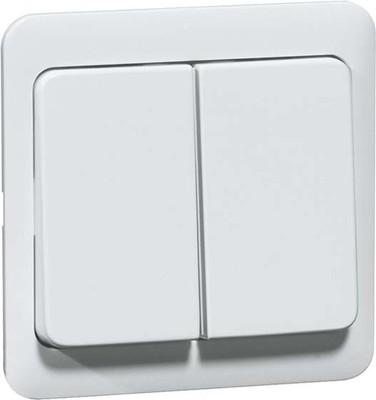 Peha Serientastaufsatz weiß für Dimmer/Schalter D 80.425 W