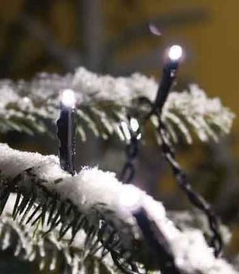 Gnosjö Konstsmide WB Micro-LED-Lichterkette 80 LEDs weiß 3611-200