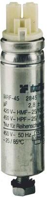 Muecap Leuchtenkondensator mit Klemme und Draht MFR45-LSKDR-2,9uF480