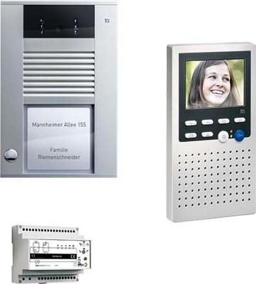 TCS Tür Control Video:pack1 color AP zum Freisprechen PVE1410-0010