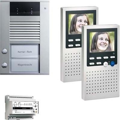 TCS Tür Control Video:pack2 color AP zum Freisprechen PVE1420-0010