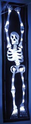 Hellum LED-Skelett Folie H:90cm batteriebetrieben 376012