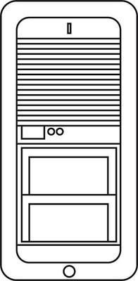 Siedle&Söhne Leiterplatte kpl. TLM 521-01