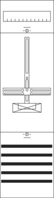 Striebel&John Zählerfeld BH2 1-Feld 1ZF2210
