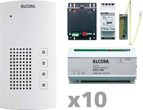 Elcom Audio-Kit i2-Bus 10Tln. BTF-200 AKF-10 i2-BusK