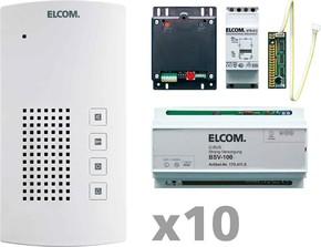 Elcom Audio-Kit i2-Bus 10Tln. BTF-200 AKF-10 i2-BusK
