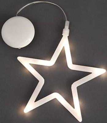 Gnosjö Konstsmide WB LED Fensterbild Stern 8 LEDs ww 1296-103