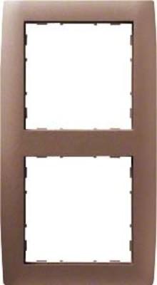 Hager Rahmen 2-f. bronze WYR228