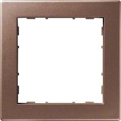 Hager Rahmen 1-f. bronze WYR118
