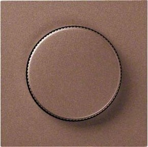Hager Abdeckung bronze für Drehdimmer WYA908