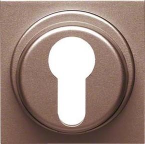 Hager Abdeckung bronze f.Schlüsselschalter WYA438
