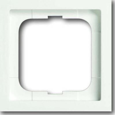 Busch-Jaeger Rahmen 1-fach studioweiß matt 1721-884K