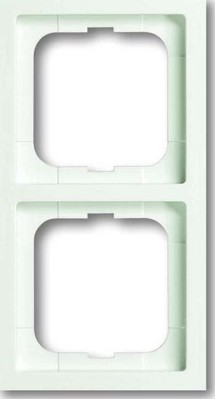 Busch-Jaeger Rahmen 2-fach studioweiß matt 1722-884K