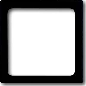 Busch-Jaeger Zentralscheibe schwarz mt für UP Infolicht 1716-885