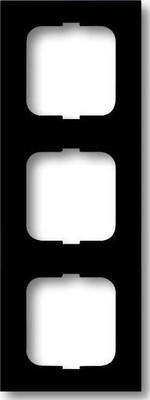 Busch-Jaeger Rahmen 3-fach schwarz matt, f.lin. 1723-885K