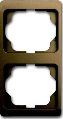 Busch-Jaeger Rahmen 2-fach bronze, senkr. alpha 1732 KA-21