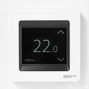 Devi Uhrenthermostat Touch-Display, 16A DEVIreg Touch rws