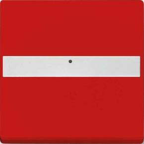 Busch-Jaeger Wippe rot bel.,Beschriftungsf. 1764 NLI-12-82