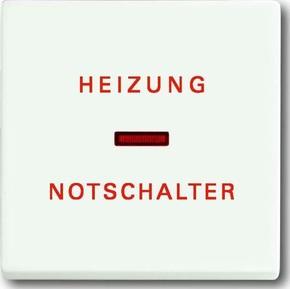 Busch-Jaeger Wippe stws mt Heizung-Notschalter 1789 H-884