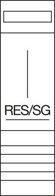 Hager Komplettfeld 950mm,1feld RES/TRE ZH23XL