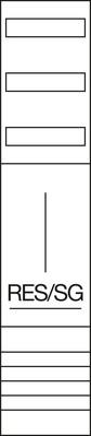 Hager Komplettfeld 1200mm,1feld RES/TRE ZH43XL