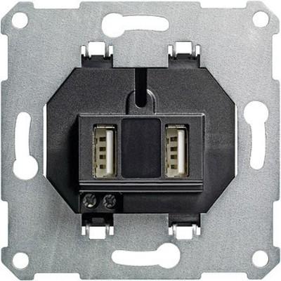 Gira USB Spannungsvers. 2-fach ch Einsatz 235900