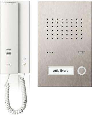 Ritto Acero pur Audio Set 1WE RGE1818125