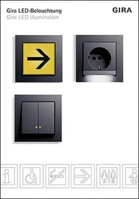 Gira Display LED-Beleuchtung Präsentation 1658110