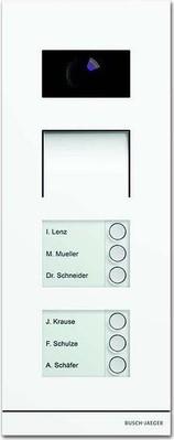 Busch-Jaeger Außenstation Video 6-fach sws matt 83122/6-664