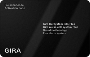 Gira Softwarepaket BMZ Rufsystem 834 Plus 599300