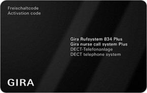 Gira Softwarepaket DECT Rufsystem 834 Plus 599400