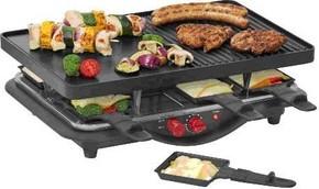 Steba Raclette 1400W,8Pfännchen RC 28 sw/chr